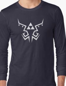 Zelda Breath of the Wild Link shirt pattern Long Sleeve T-Shirt