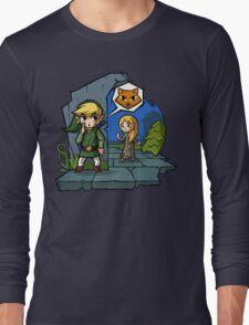 Zelda Wind Waker Meow Long Sleeve T-Shirt