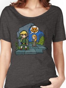 Zelda Wind Waker Meow Women's Relaxed Fit T-Shirt