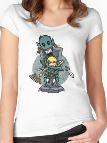 Zelda Wind Waker ReDead  Women's Fitted Scoop T-Shirt