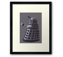 Friendly Dalek Framed Print