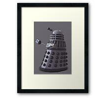 Friendly Dalek Framed Print