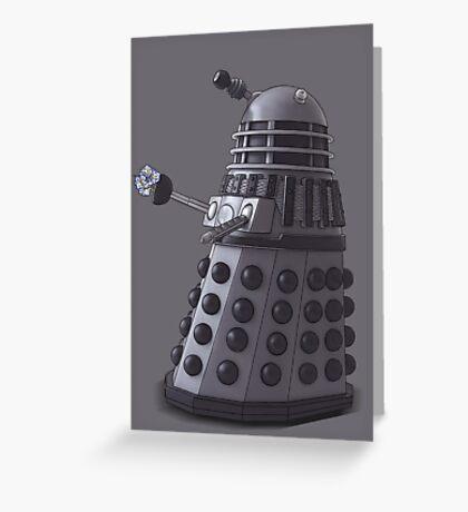 Friendly Dalek Greeting Card