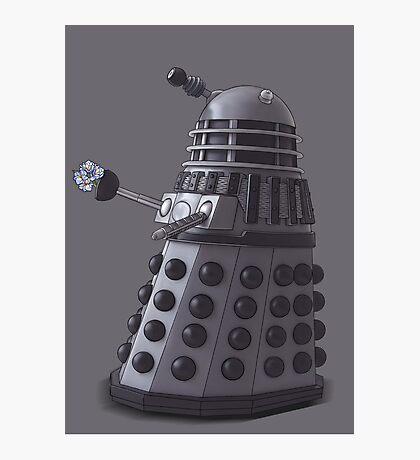 Friendly Dalek Photographic Print