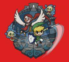 Zelda Wind Waker Earth Temple Kids Tee