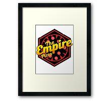 StarWars Empire Pizza! Framed Print