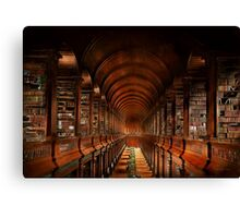 Library - The long room 1885 Canvas Print