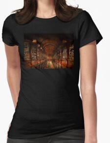 Library - The long room 1885 Womens Fitted T-Shirt