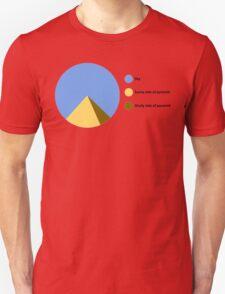 Pyramid Pie Chart T-Shirt