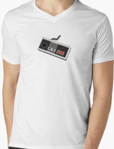 Nintendo Entertainment System Controller - Pixel Mens V-Neck T-Shirt