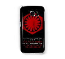 The Power of The First Order Samsung Galaxy Case/Skin