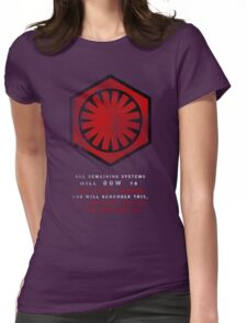 The Power of The First Order Womens Fitted T-Shirt