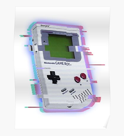 GameBoy Distort Poster