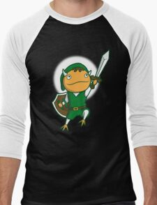 The Hero of Another World Men's Baseball ¾ T-Shirt