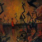 red boys landscape by glennbrady