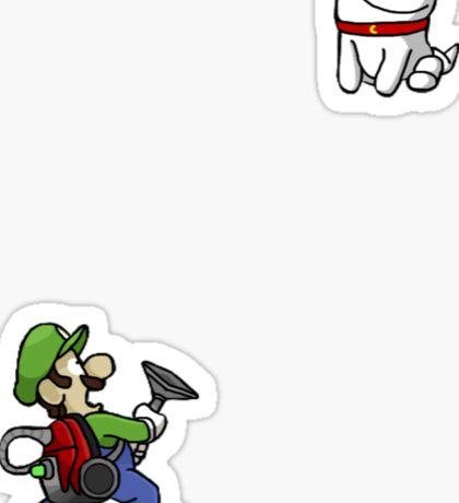 Luigi's Mansion Ghost Dog Sticker