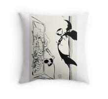 Fear and Loathing art - Ralph Steadman Throw Pillow