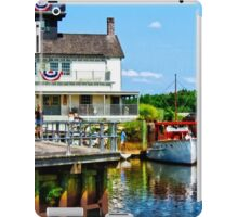 Docked Boats iPad Case/Skin