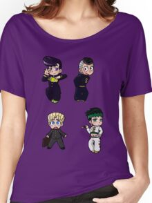 Diamond is Unbreakable Chibi collection Women's Relaxed Fit T-Shirt