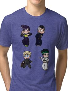 Diamond is Unbreakable Chibi collection Tri-blend T-Shirt