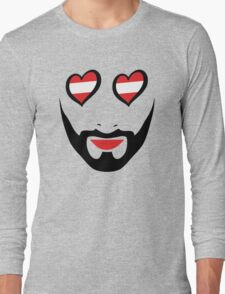 Conchita Wurst - Queen of all Austria Long Sleeve T-Shirt