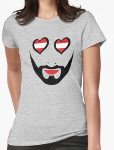 Conchita Wurst - Queen of all Austria Womens Fitted T-Shirt