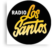 Radio Los Santos Canvas Print