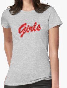 Girls Sweatshirt - Friends (red) Womens Fitted T-Shirt