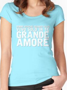 Il Volo - Grande Amore [Eurovision] Women's Fitted Scoop T-Shirt