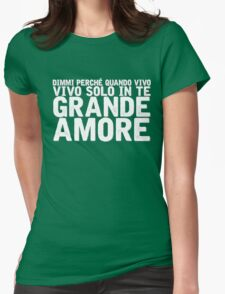 Il Volo - Grande Amore [Eurovision] Womens Fitted T-Shirt