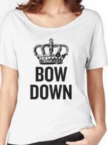 Bow Down Women's Relaxed Fit T-Shirt