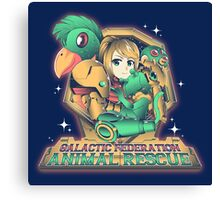 Animal Rescue Canvas Print