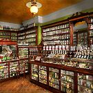 Pharmacy - The chemist shop of Mr Jones 1907 by Mike  Savad