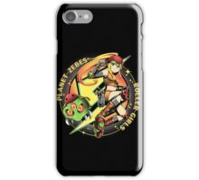 Planet Zebes Roller girls  iPhone Case/Skin