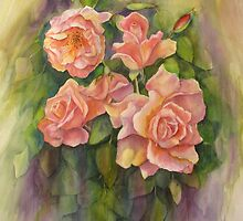 Summer Roses by bevmorgan