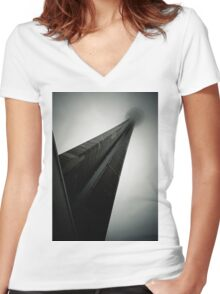 The Man In The High Tower Women's Fitted V-Neck T-Shirt