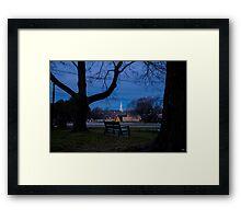 Peace in the Park (Prescot Park) Framed Print