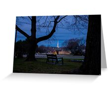 Peace in the Park (Prescot Park) Greeting Card