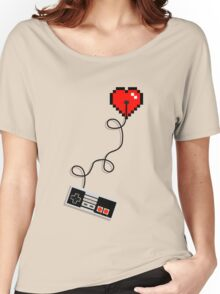Retro at Heart  Women's Relaxed Fit T-Shirt