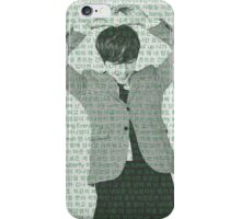 Taehyung/V Lyrics Phone Case iPhone Case/Skin