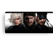 Metal Gear Trio  Canvas Print