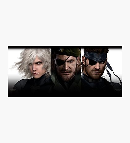 Metal Gear Trio  Photographic Print
