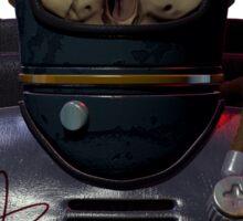 The atom astronaut Sticker
