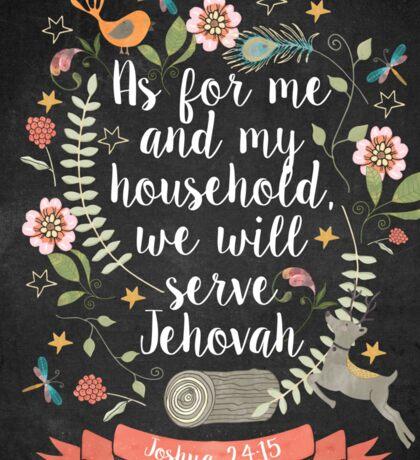 Joshua 24:15 Sticker