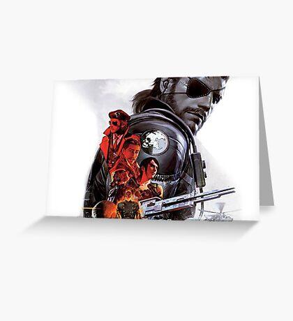 Metal Gear Greeting Card