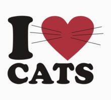 I Love Cats by baygonwarrior