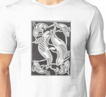 Bold Lined Blackfish Unisex T-Shirt