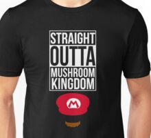 Straight Outta Mushroom Kingdom Unisex T-Shirt