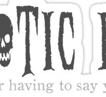 Chaotic Evil Sticker