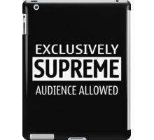 Exclusively Supreme Audience iPad Case/Skin